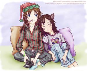 +Elfie and Neko+ for Shiori