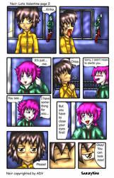 Noir: Late Valentine page 2 by sazzykins