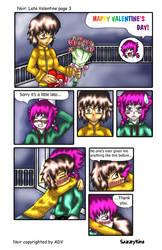Noir: Late Valentine page 3 by sazzykins