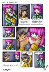 Noir: Late Valentine page 4 by sazzykins