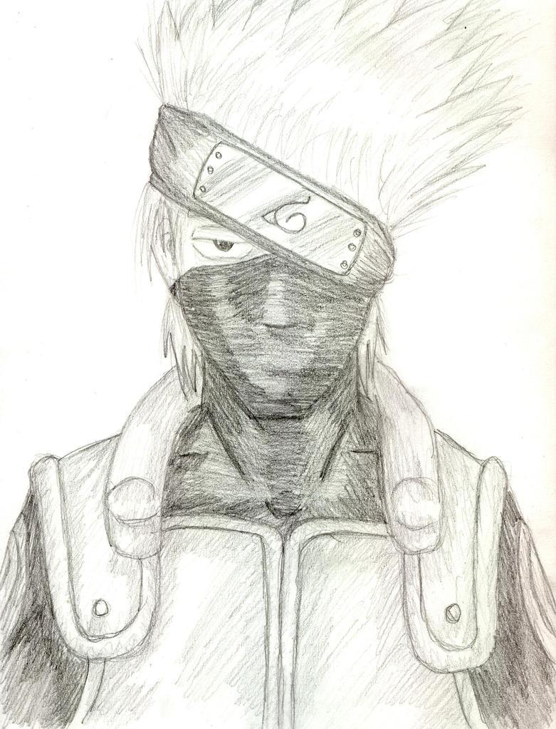 kakashi sketches - 781×1022