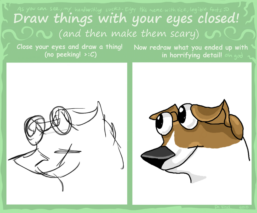 draw it with your eyes closed pdf