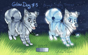 [SOLD] Glow Dog #5 AUCTION- Points or Paypal!