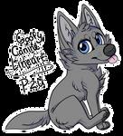 [P2U] Goofy Canine Lineart Download