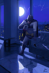 The Dark night by benchi