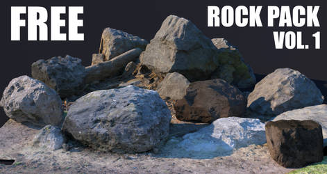 Free 3D Rock Pack