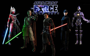 The Force Unleashed wallpaper by JediKnight14