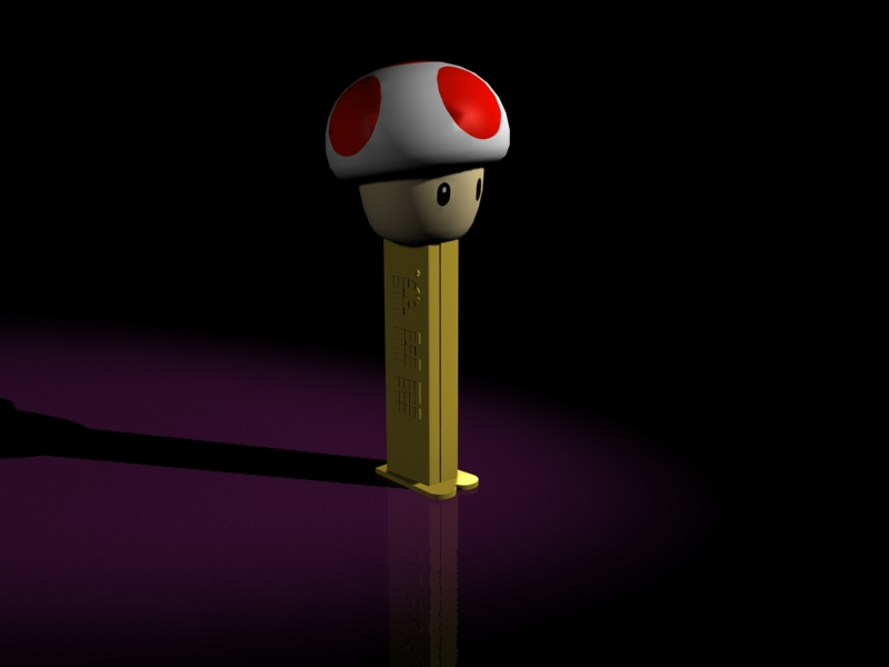 Pez dispenser by JediKnight14