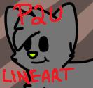 P2U Adoptables Lineart by mossyyadopts