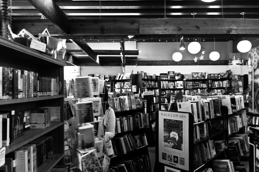 Image result for the bookshop black and white
