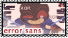 UT: Errortale Sans || Fan Stamp by Sanstima-Stamps