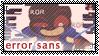 UT: Errortale Sans || Fan Stamp by Sanstima-Stamps