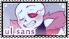 UT: Underlust Sans || Fan Stamp by Sanstima-Stamps