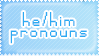 PN: I Prefer He/Him Pronouns V.1 by Sanstima-Stamps