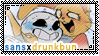 UT: Sans x (Female) Drunk Bunny || Request 29 by Sanstima-Stamps