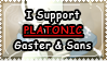 UT: Platonic Gaster and Sans || Request 36 by Sanstima-Stamps