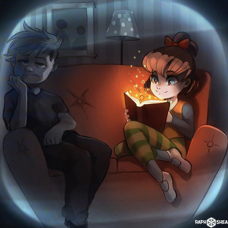 Read A Book by RaphShea