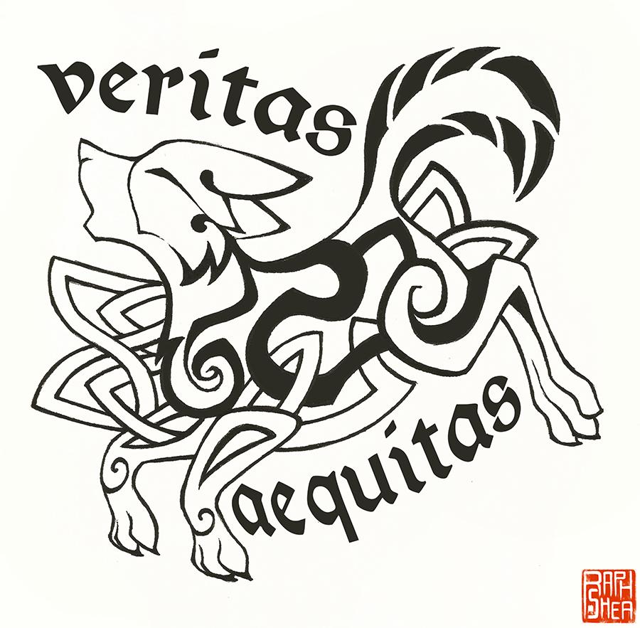 Veritas Aequitas by RaphShea