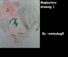 Maple story Drawing 1