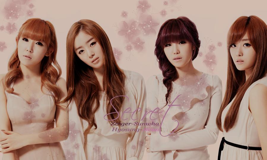 secret wallpaper by anniself d4rdg1t 10 Girlband Korea Paling Cantik