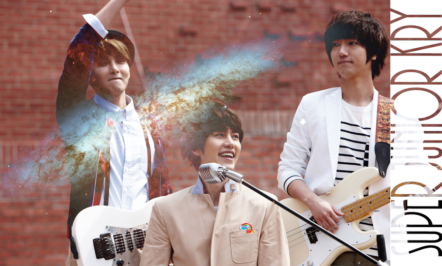 Super Junior KRY wallpaper by AnnisELF on DeviantArt