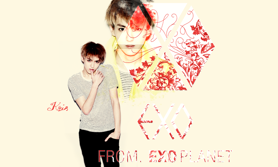EXO M Kris wallpaper by AnnisELF on DeviantArt