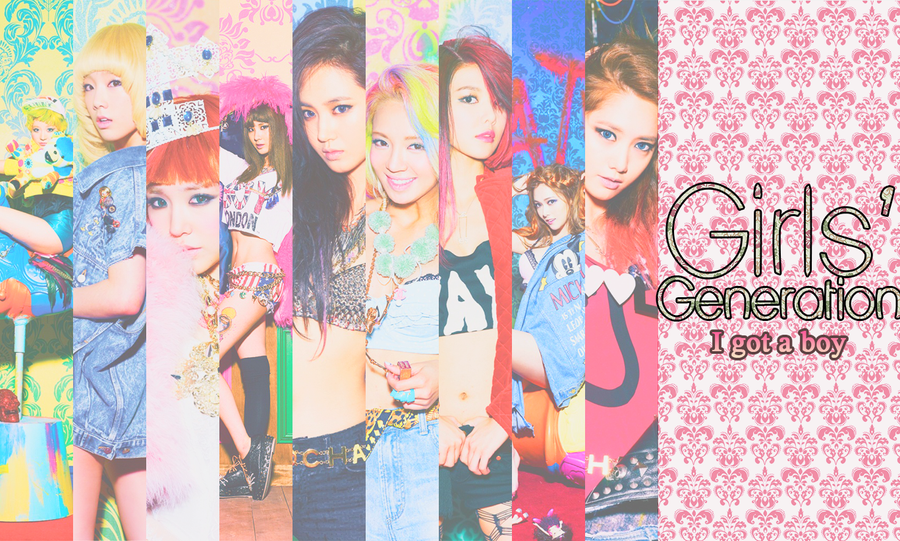 SNSD Girls Generation Wallpaper By AnnisELF