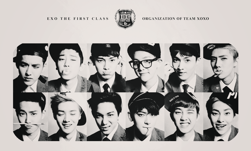 EXO XOXO wallpaper by AnnisELF on DeviantArt