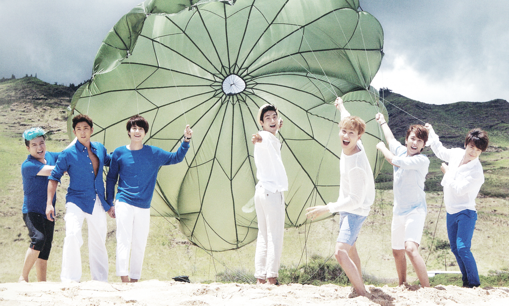 Super Junior Memory in Hawaii wallpaper 5 by AnnisELF on DeviantArt