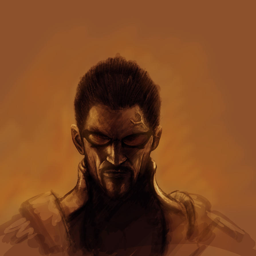 Adam Jensen by kimded