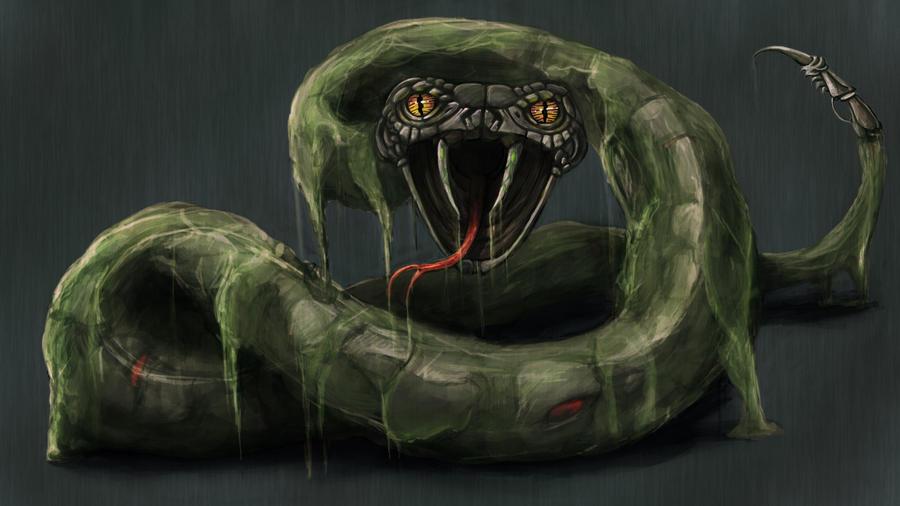 Mecha-Snake by kimded
