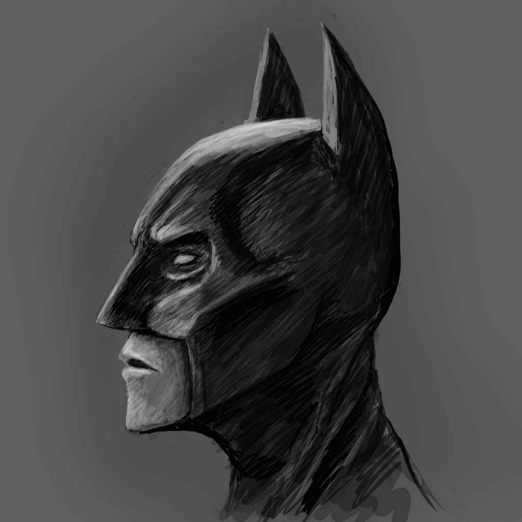 Batman Speed Paint - 30min by kimded