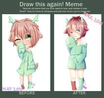 Draw this again meme by Kanzy-Chan