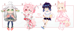[OPEN] Adoptable Auction Collab by Kanzy-Chan