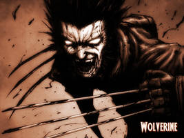 Dark Wolverine Wallpaper by StrongerThanAll