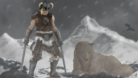 A Wolf and His Nord