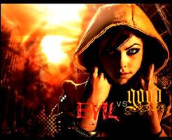 Evil VS Good by umayrr