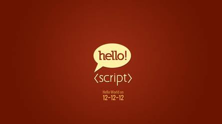 Hello Script - Logo Design