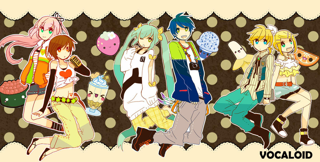 VOCALOID: Casual by LightAppend