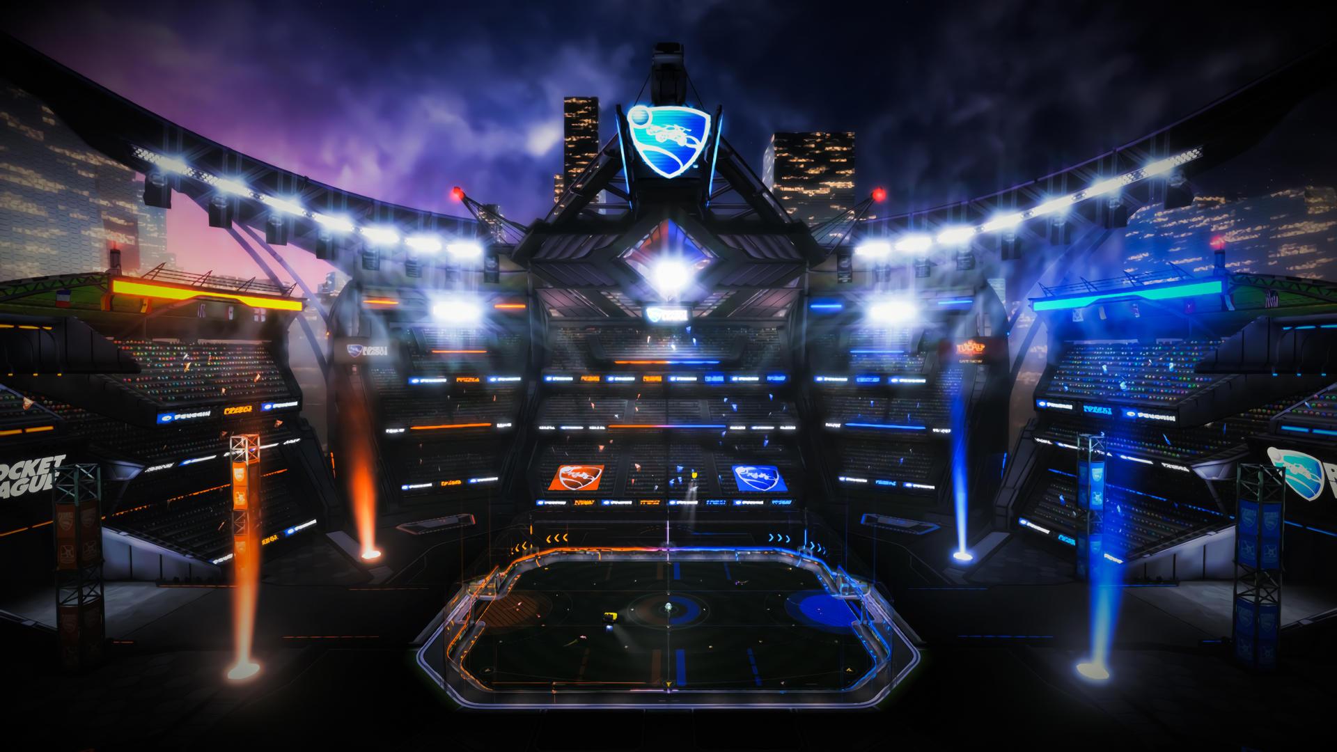 Champions Field Rocket League By Jazzyjusto On Deviantart