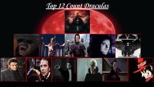 My Top Twelve Draculas
