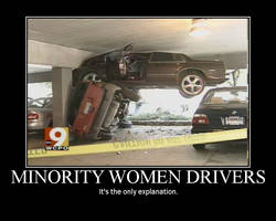 Minority Woman Drivers by AngryFlashlight