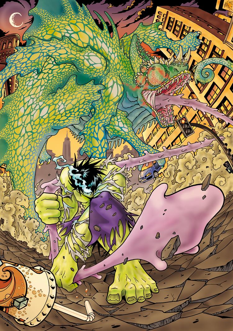 Hulk to Richi by Suragu