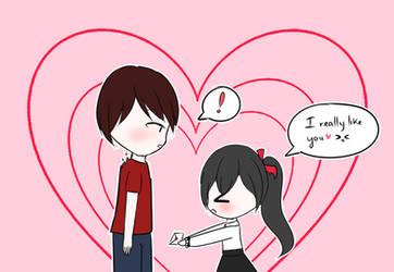 I really like you by MKirina