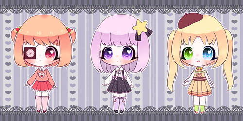 [CLOSED] Set prices adopts chibi (3$/300 points) by MKirina