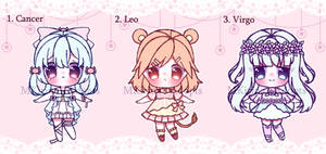 [CLOSED] 12 ZODIAC SIGNS AUCTION ADOPT (PART 2)