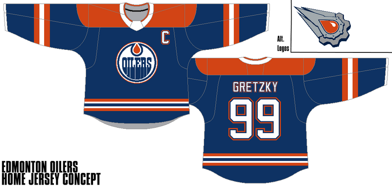online store 399d7 c2f1b Edmonton Oilers - Home Jersey Concept by Gojira5000 on ...
