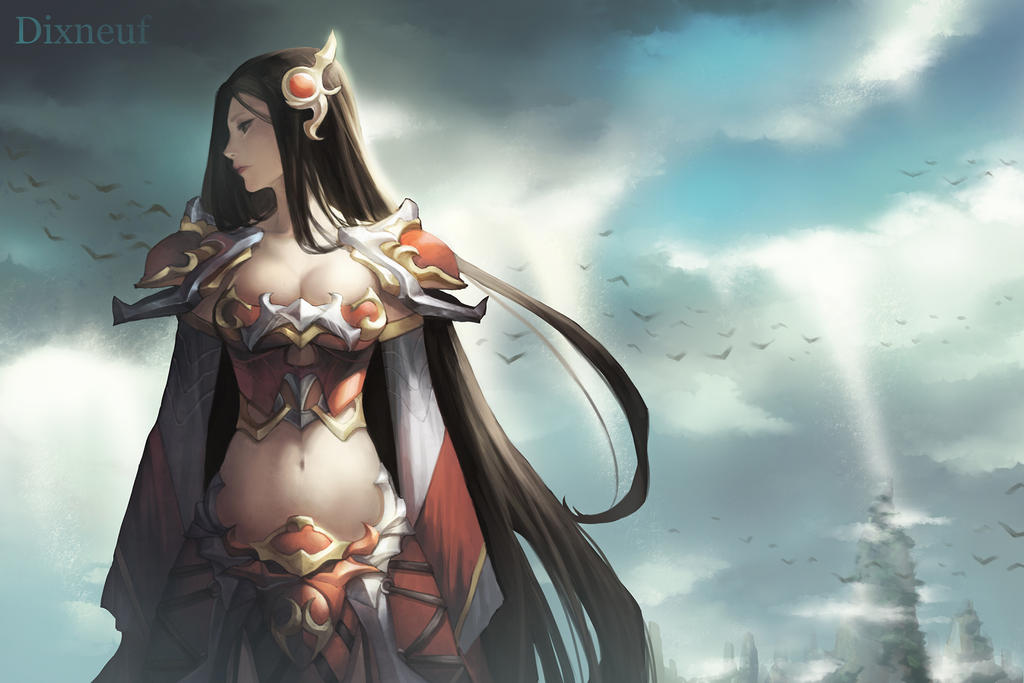 irelia the will of the blades by notagingermaan on deviantart