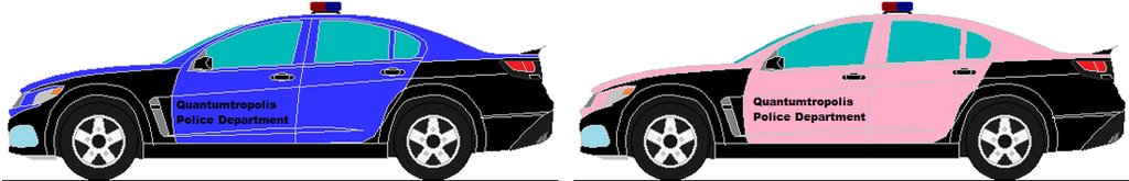 Quantumtropolis police cars by Codemaster9999