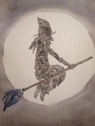 Cat witch by Paprika-B
